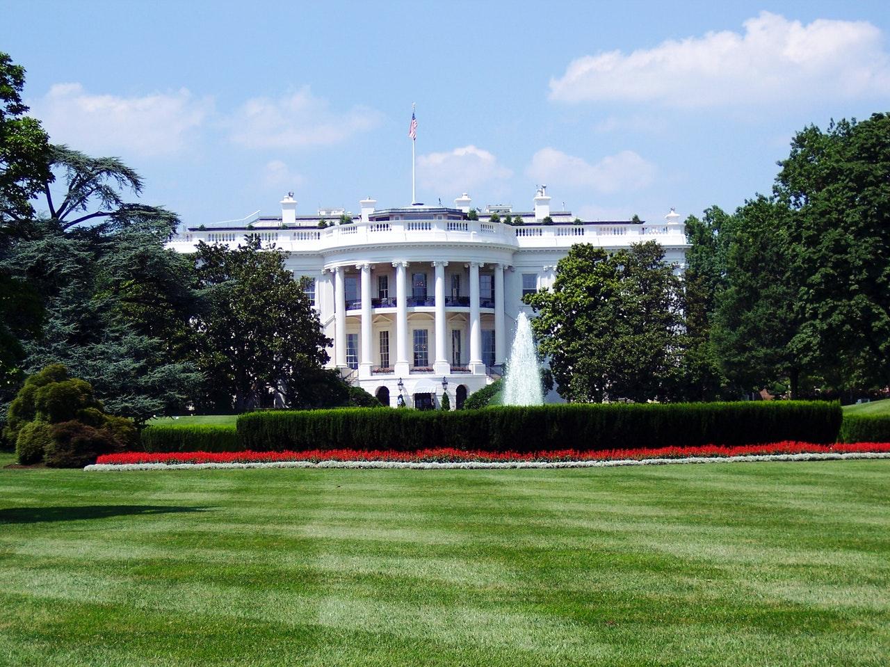 Trump forlader det hvide hus